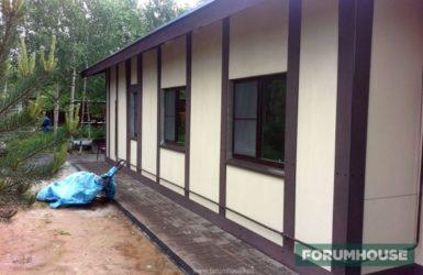 Чем покрасить плоский шифер на фасаде дома?