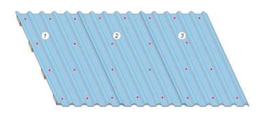 Сколько саморезов на лист профнастила на крышу?