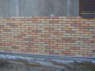 Силикатная плитка для облицовки фасадов