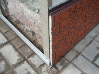 Панели для цоколя с утеплителем