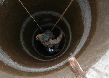 Гидроизоляция кессона изнутри от грунтовых вод