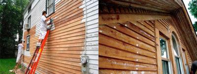 Чем обработать фасад деревянного дома?