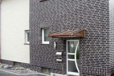 Облицовка фасада под кирпичную кладку