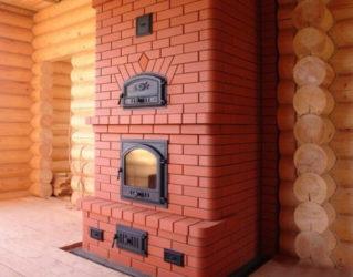 Как построить печь в готовом доме?