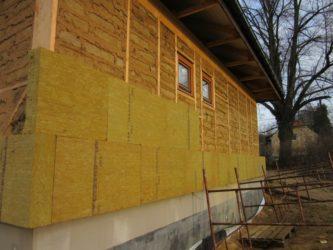 Как утеплить фасад дома минватой своими руками?