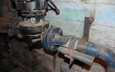 Шум от насоса в подвале жилого дома