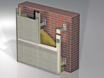Фиброцементная плита для фасада монтаж