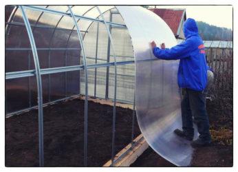 Как правильно построить теплицу из поликарбоната?