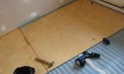 Гидроизоляция под линолеум на деревянный пол