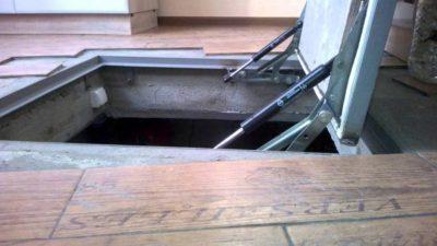 Подъемные механизмы для люков в подвал