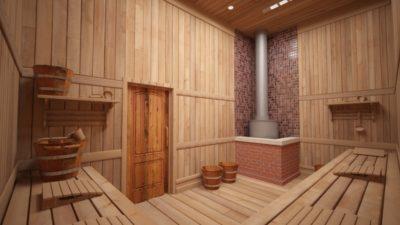 Из какого материала можно построить баню?