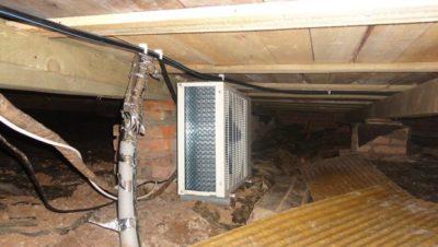 Почему в подвале тепло{q}
